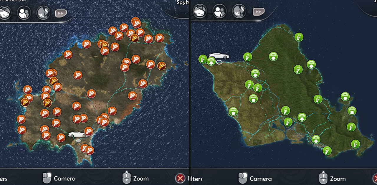 Top 10 biggest open worlds ever test drive unlimited 2 comes with 2 fully explorable maps that is the satellite modeled of both ibiza and oahu although they might not feel that big if gumiabroncs Choice Image
