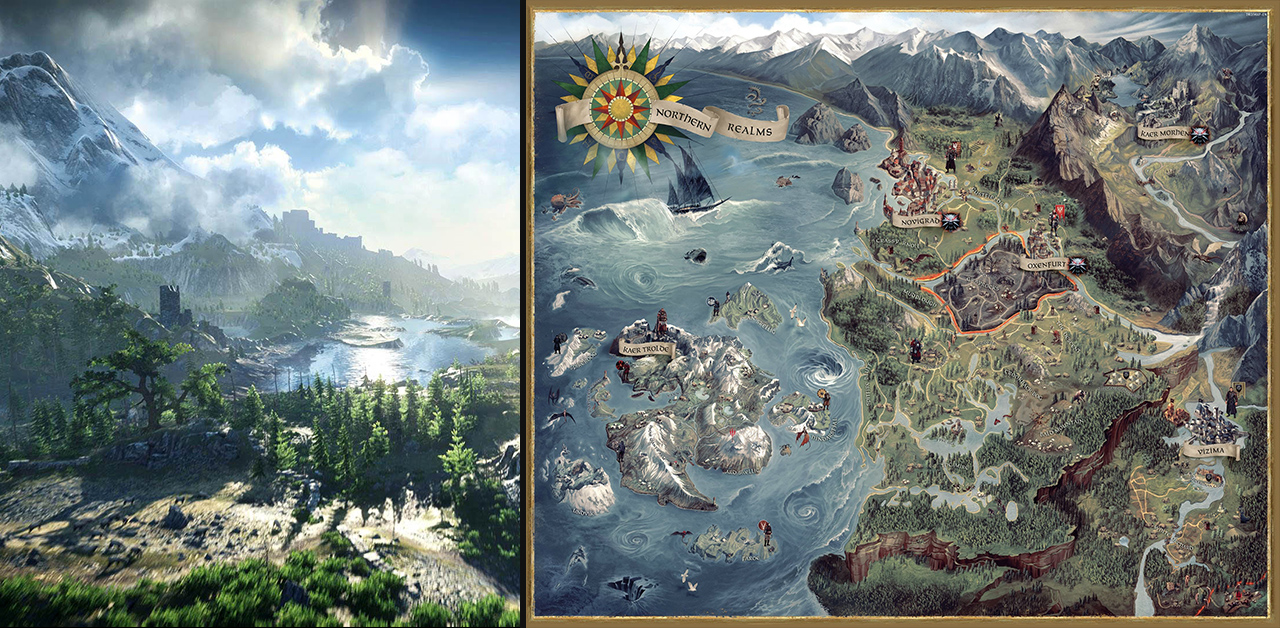 Top 10 biggest open worlds ever as if theres not enough cd projekt red can brag about with the truly amazing latest installment in the witcher trilogy its map size is among the biggest gumiabroncs Images