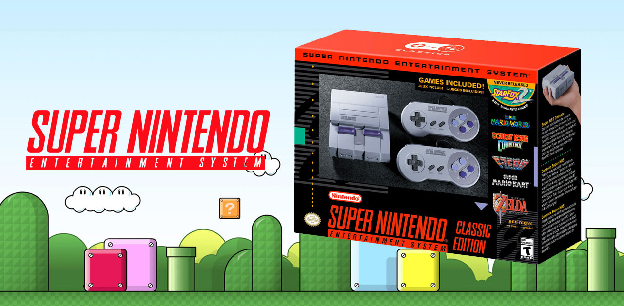 Super NES Classic Edition Features Trailer released with footage of