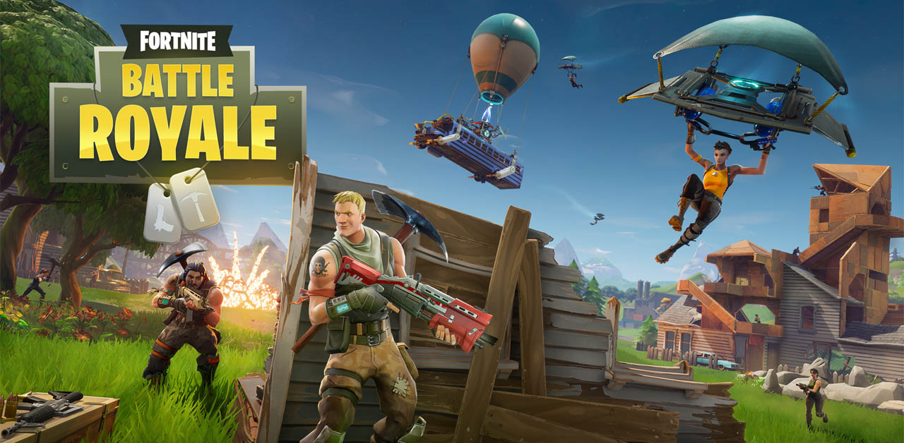 Fornite Battle Royal Free To Play