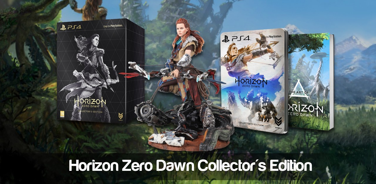 Horizon: Zero Dawn Collectors Edition