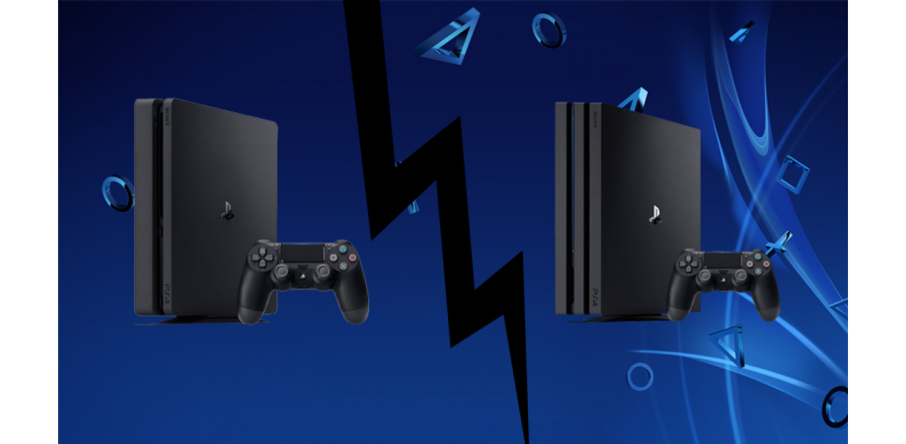 Playstation 4 Pro vs Playstation Slim