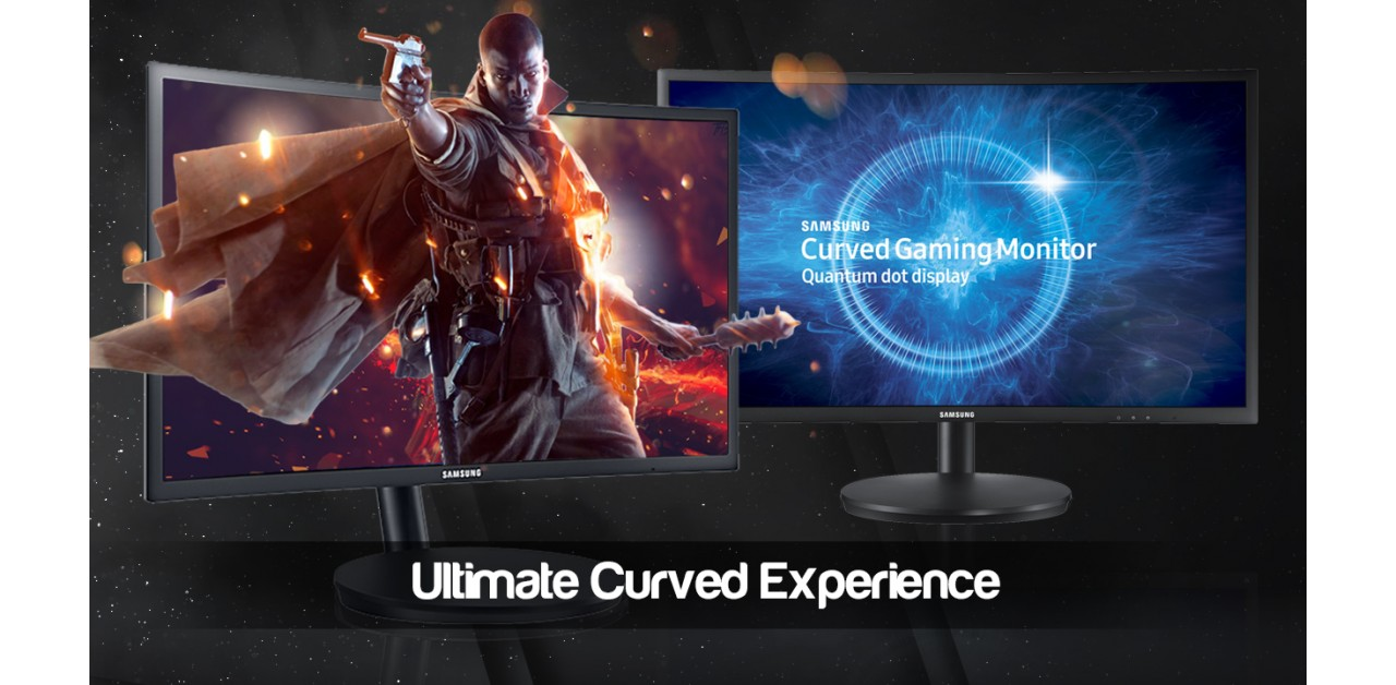 Curved Samsung Gaming Monitor Done Right