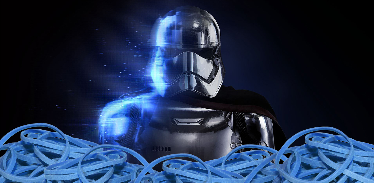 Playing Star Wars: Battlefront II With Rubber Bands To Boost Credits