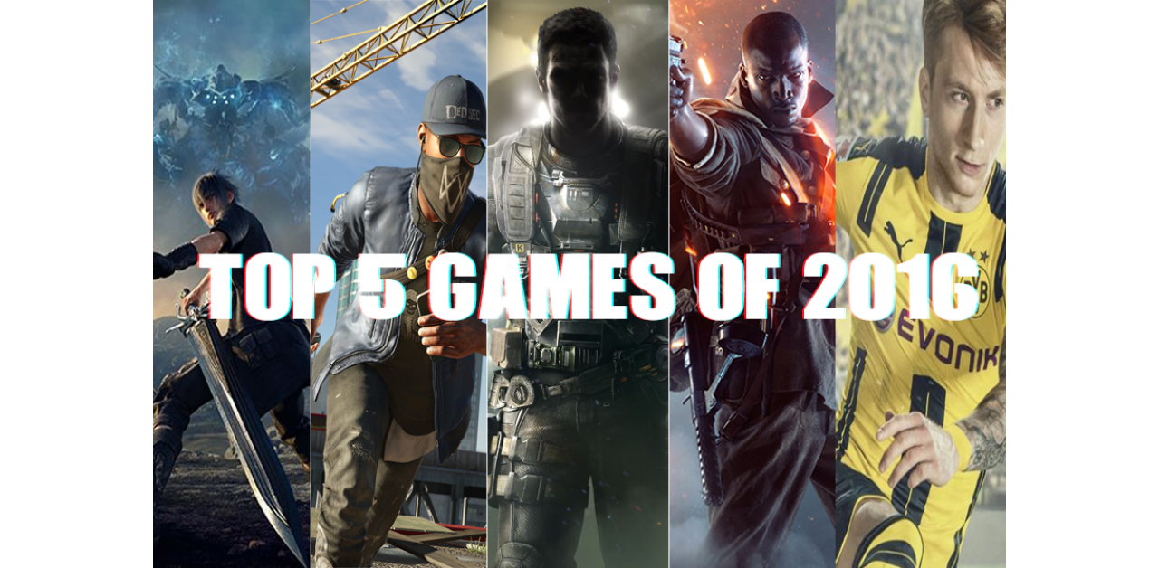 Top 5 Best Games of 2016