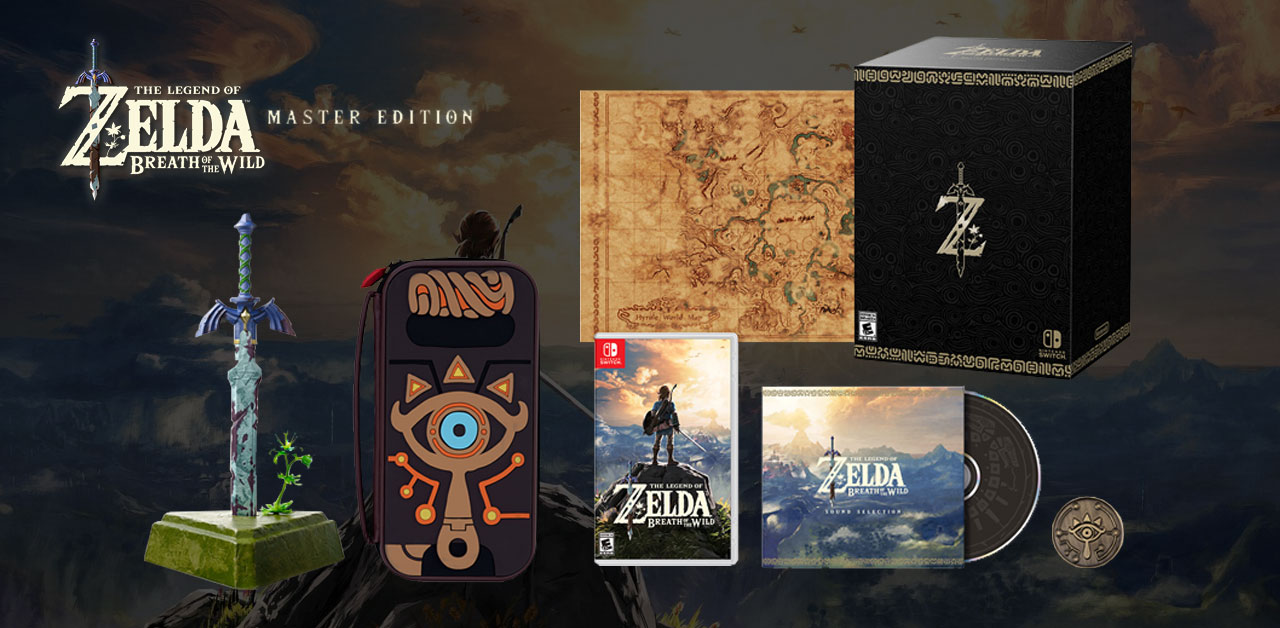 Check out the Zelda: Breath of the Wild Special Edition & Master Edition