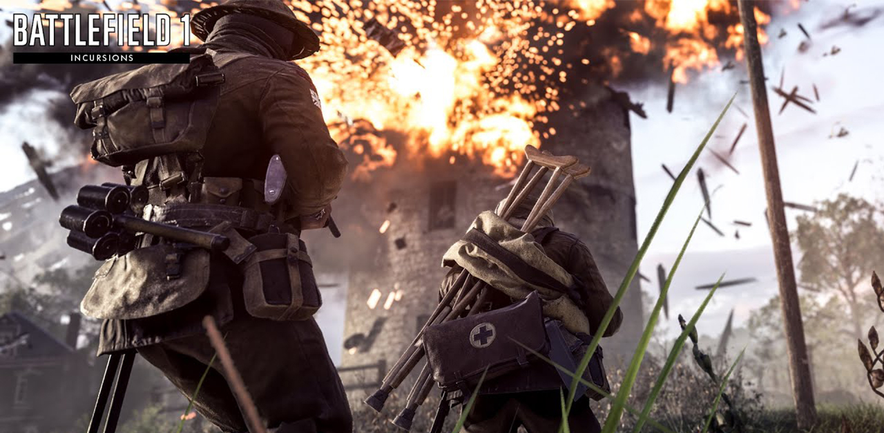 Alpha Testing Battlefield 1's 5v5 'Incursions' Begins Today