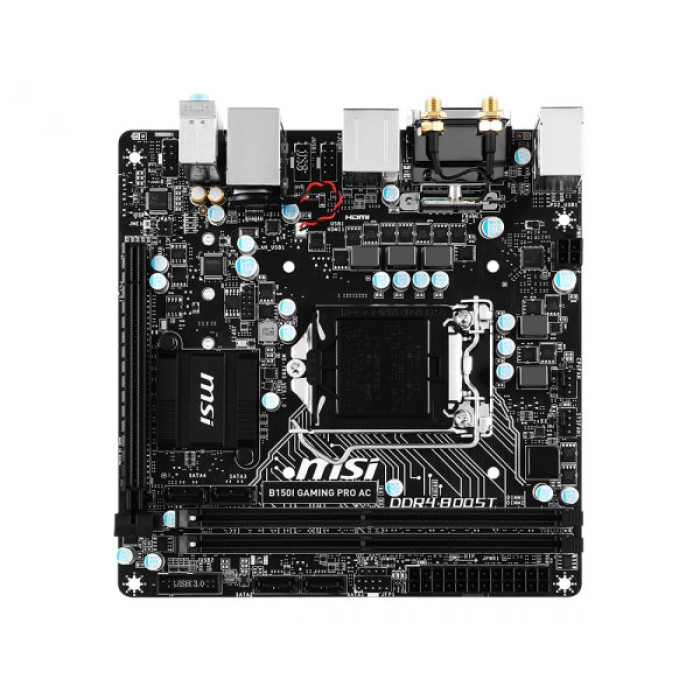 Msi B150i Gaming Pro Ac Motherboard Game Hypermart