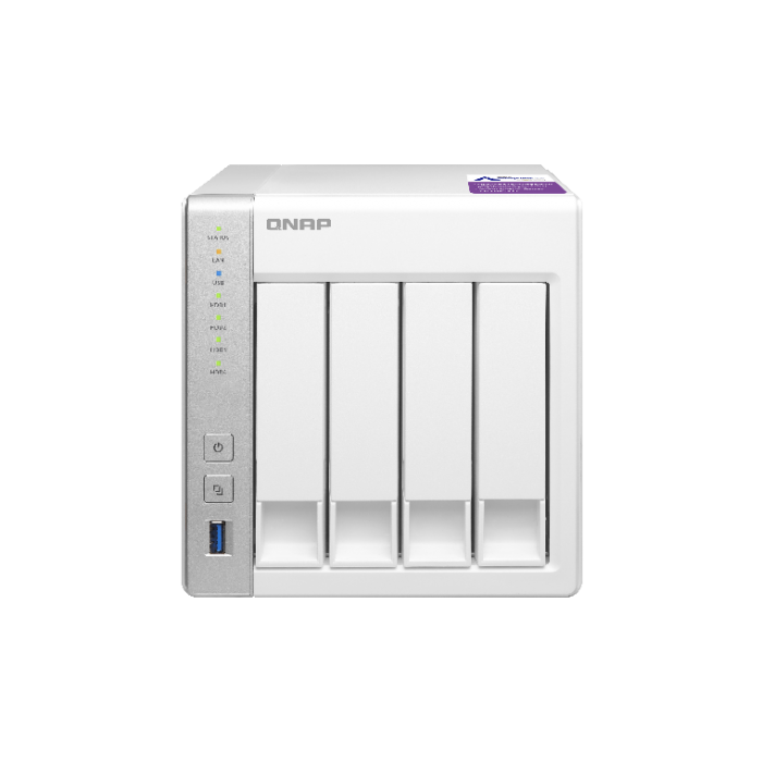 QNAP TS431P NAS Storage (4-Bay Personal Cloud NAS with DLNA, Mobile
