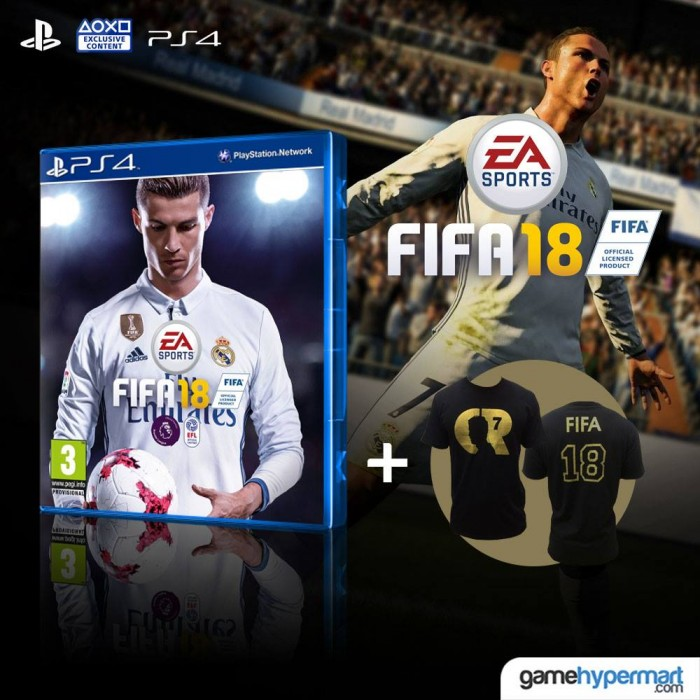 Ps4 Fifa 18 R3 Eng Game Hypermart