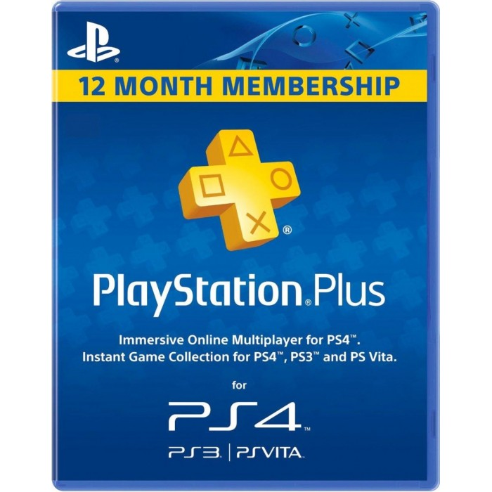 PlayStation Plus 12-Month | Game Hypermart