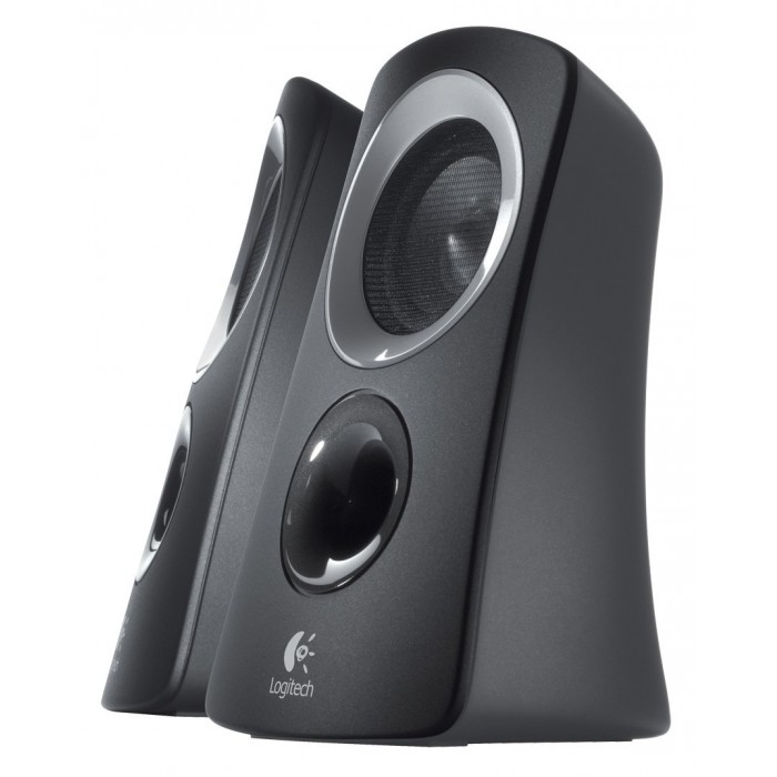 logitech 2 1 speaker system z313 game hypermart. Black Bedroom Furniture Sets. Home Design Ideas