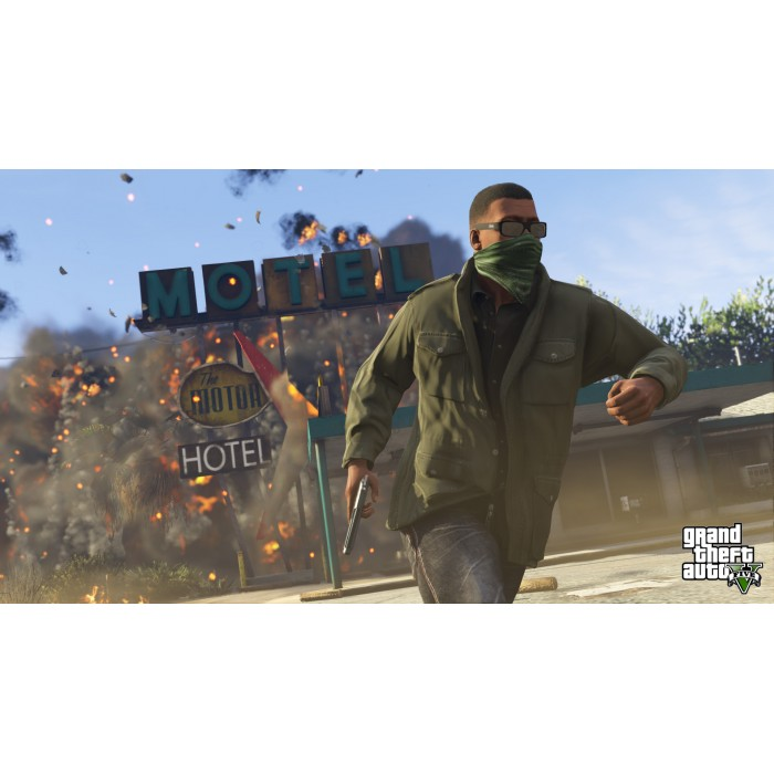 Ps4 Grand Theft Auto V Gta 5 Game Game Hypermart