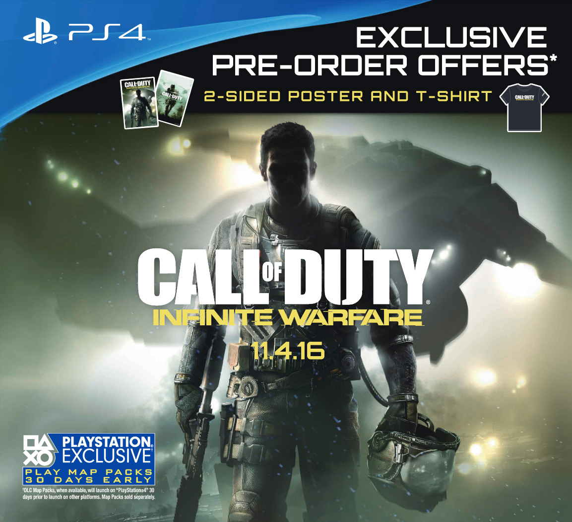 ps4 call of duty infinite warfare legacy edition game for. Black Bedroom Furniture Sets. Home Design Ideas